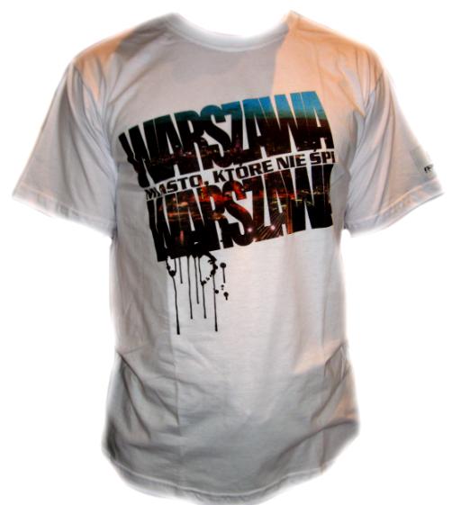 Koszulka Warszawa NASTAF
