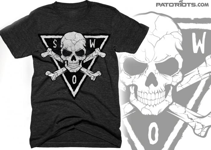 088e0193a8b7 Koszulka PATRIA Śmierć Wrogom Ojczyzny grafitowa